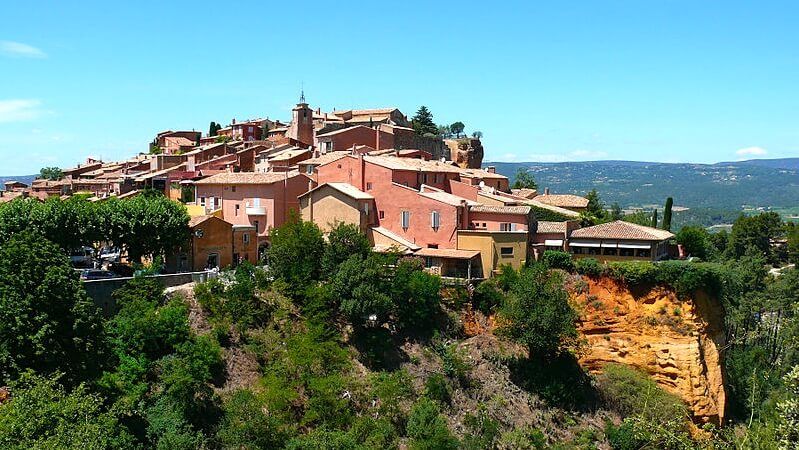 Roussillon (Vaucluse) South France