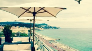 rooftop bar on the french cote d'azur